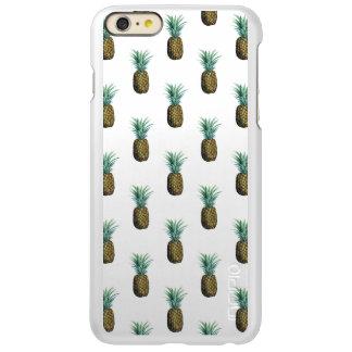 De tropische Waterverf van de Ananas Incipio Feather® Shine iPhone 6 Plus Hoesje