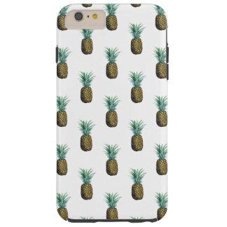 De tropische Waterverf van de Ananas Tough iPhone 6 Plus Hoesje