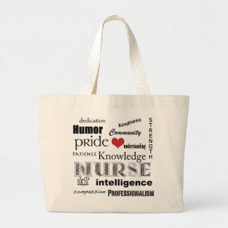 De trots-Attributen van de verpleegster+rood hart Grote Draagtas