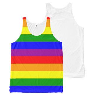 De Trots van de regenboog - unisex-tanktop All-Over-Print Tank Top