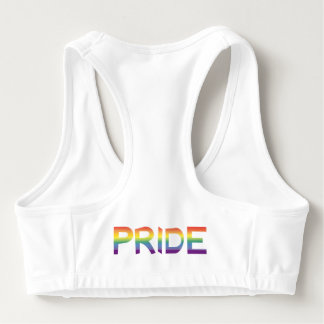 De Trots van de Vlag van de regenboog Sport BH