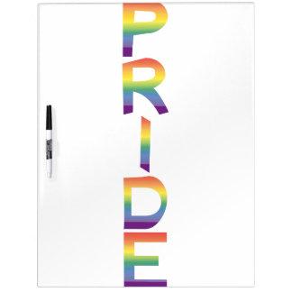 De Trots van de Vlag van de regenboog Whiteboards