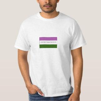 De Trots van de Vlag van Nonbinary van Genderqueer T Shirt