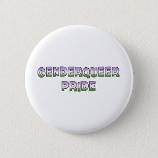 De Trots van Genderqueer Ronde Button 5,7 Cm