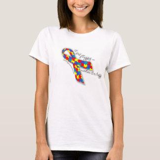 De Trots van het autisme - ik krijg Flappy wanneer T Shirt