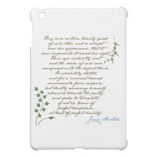 De Trots van Jane Austen & het Citaat van het Nade iPad Mini Case