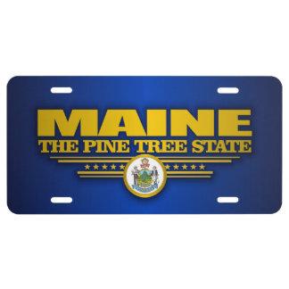 De Trots van Maine Nummerplaat