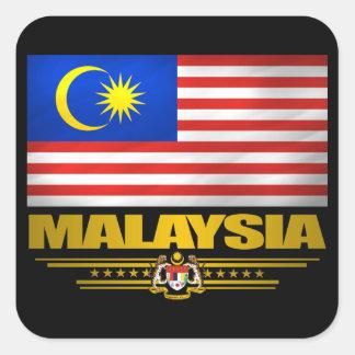 "De ""trots van Maleisië "" Vierkante Sticker"