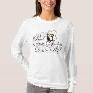 De trotse 101ste Vrouw In de lucht van de Afdeling T Shirt