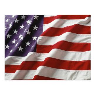 De trotse en Patriottische Vlag van de V.S. Briefkaart