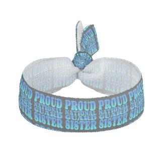 De trotse Nationale Zuster van de Wacht Haarelastiekje