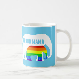 De trotse Olifant van Mamma's LGBT Koffiemok