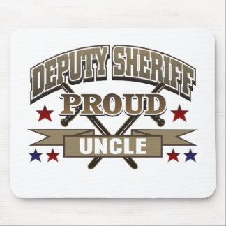 De Trotse Oom van de Sheriff van de afgevaardigde Muismat