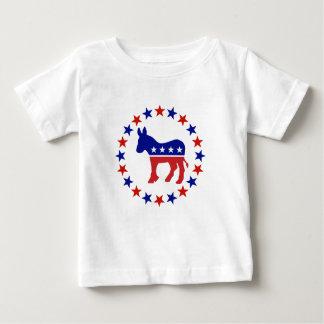 De trotse Originele Sterren van de Democraat Baby T Shirts