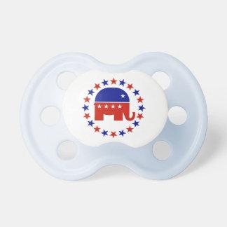 De trotse Republikeinse Sterren van de Cirkel Fopspeentjes