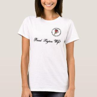 De trotse T-shirt van de Vrouw van het Legioen