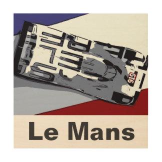 De TRUC van het PET van Le Mans Hout Afdruk