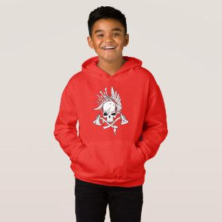 De Trui Witte Hoodie van de Vacht van het Kind van