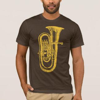 De Tuba van het messing T Shirt