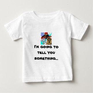 De Tuimelschakelaar van de juke-box Baby T Shirts