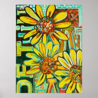 DE Tuin (de Tuin), het BloemenPoster van de Kunst Posters