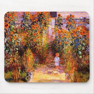 De Tuin van Claude Monet-Monet's in Vétheuil Muismatten