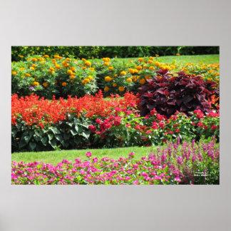 De tuin van de Bloem Poster