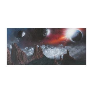 De Tuin van de fantasie van de Goden Canvas Afdrukken