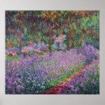 De tuin van de Kunstenaar in Giverny, 1900 Plaat