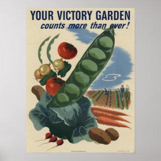 De Tuin van de overwinning Poster