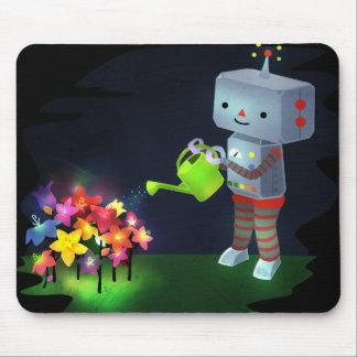 De tuin van de Robot Muismat