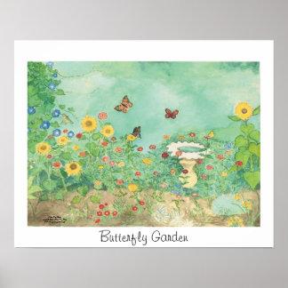 De Tuin van de vlinder Poster