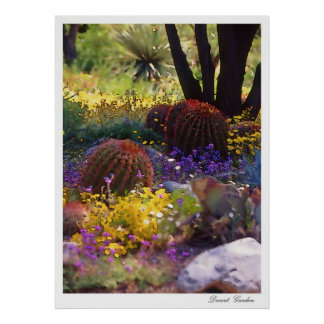De Tuin van de woestijn, poster