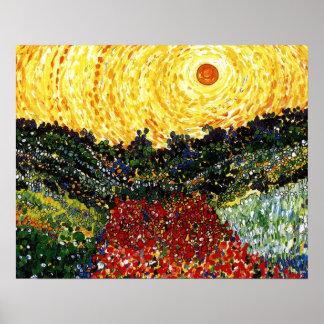 De Tuin van de zon Poster