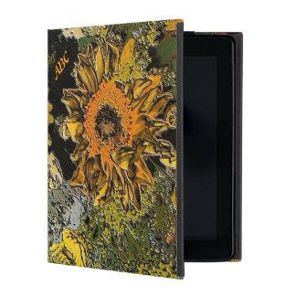De Tuin van de zonnebloem in het Opgepoetste iPad Hoesje