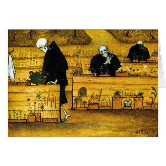 De tuin van Dood door Hugo Simberg 1896 Briefkaarten 0