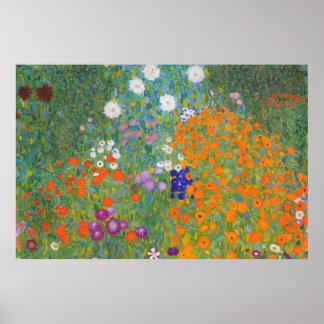 De Tuin van het Boerderij van Gustav Klimt //Bauer Poster