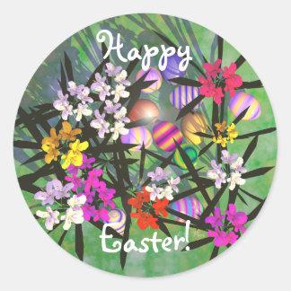 De Tuin van het Paasei Ronde Sticker