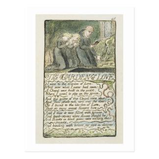 """De """"tuin van Liefde"""", plateert 45 (Bentley 44) van Briefkaart"""
