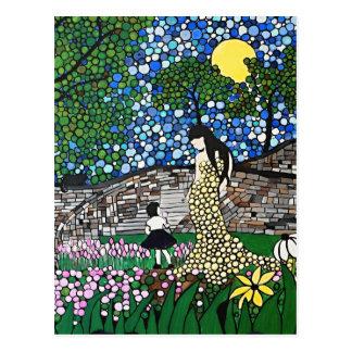 De Tuin van Pasen Briefkaart