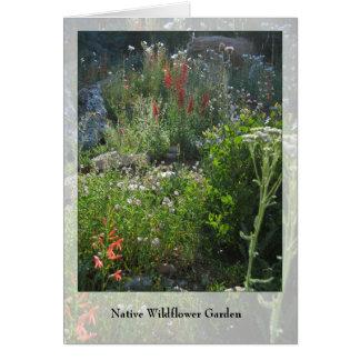 De Tuin van Wildflower - Inheemse Notecard Briefkaarten 0