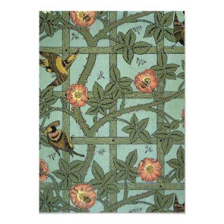 De Tuin van William Morris 11,4x15,9 Uitnodiging Kaart