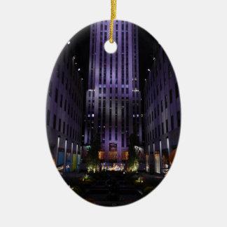 De Tuinen NYC van het Kanaal van de Fotografie van Keramisch Ovaal Ornament