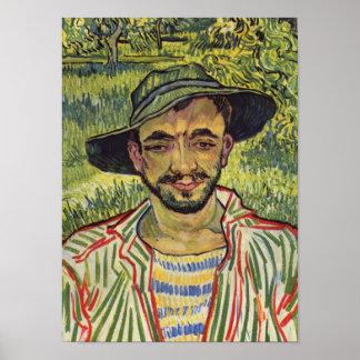 De tuinman - Vincent van Gogh Poster