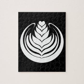 De Tulp van de Kunst van Latte Foto Puzzels