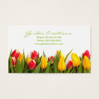 De Tulpen van de lente Visitekaartjes