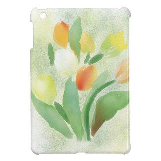 De tulpenbloemen van Watercolour, origineel iPad Mini Case