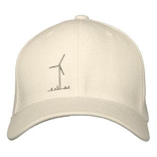 De Turbine van de wind Hat_8036 Geborduurde Pet