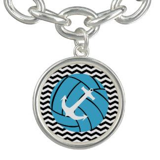 De turkooise Armband van de Charme van het