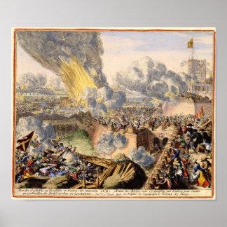 De Turkse Belegering van Wenen 1683 Poster